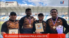 N1 – KEJOHANAN MEMANAH PIALA ASIA 2019 – SKUAD MEMANAH NEGARA RAIH 4 EMAS [6 OGOS 2019]